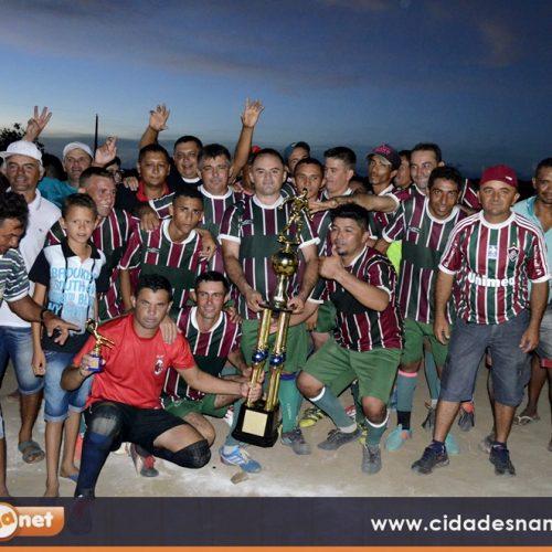 Braga é o campeão do 25º Campeonato de Futebol Amador de Caldeirão Grande do Piauí