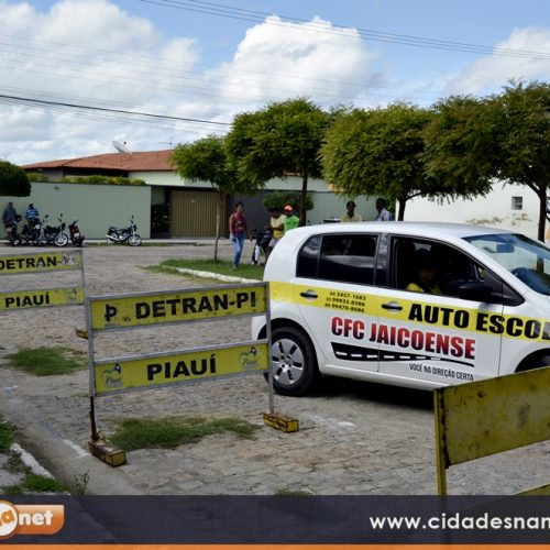 Detran realiza provas práticas em Jaicós e candidatos da Auto Escola Jaicoense são aprovados