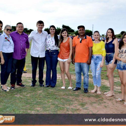 Teresa Brito visita a região de Picos e participa do 'Torneio da Amizade de Cansanção'; veja imagens