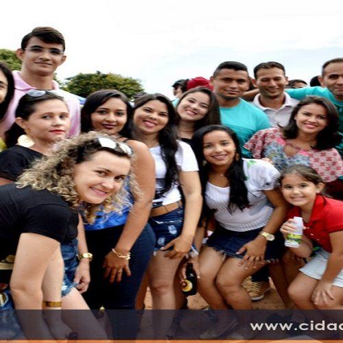 Prefeito Edilson Brito participa do tradicional torneio do cansanção em São Julião