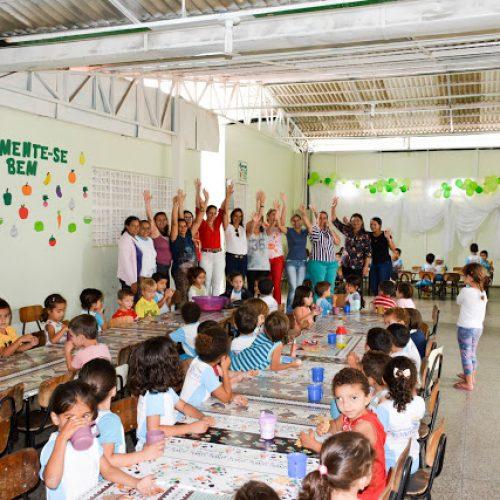 Fronteiras  Prefeita visita Centro de Educação Infantil José Aquiles Filho