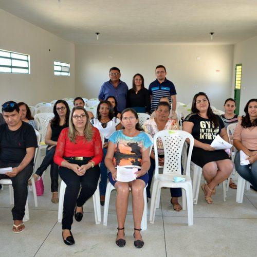 Secretaria de Educação de Belém do Piauí realiza capacitação e entrega certificados  do PNAIC