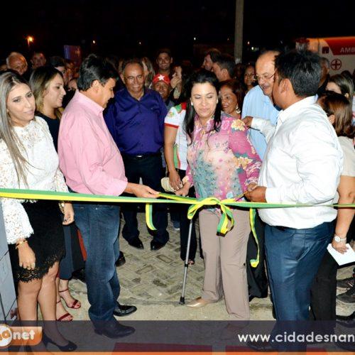 Márcio Alencar inaugura diversas obras ao lado do Governador Wellington Dias no aniversário de Alegrete; veja imagens
