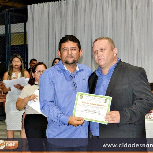 Câmara de Alegrete entrega Título de Cidadania ao Pastor Fredson Sousa