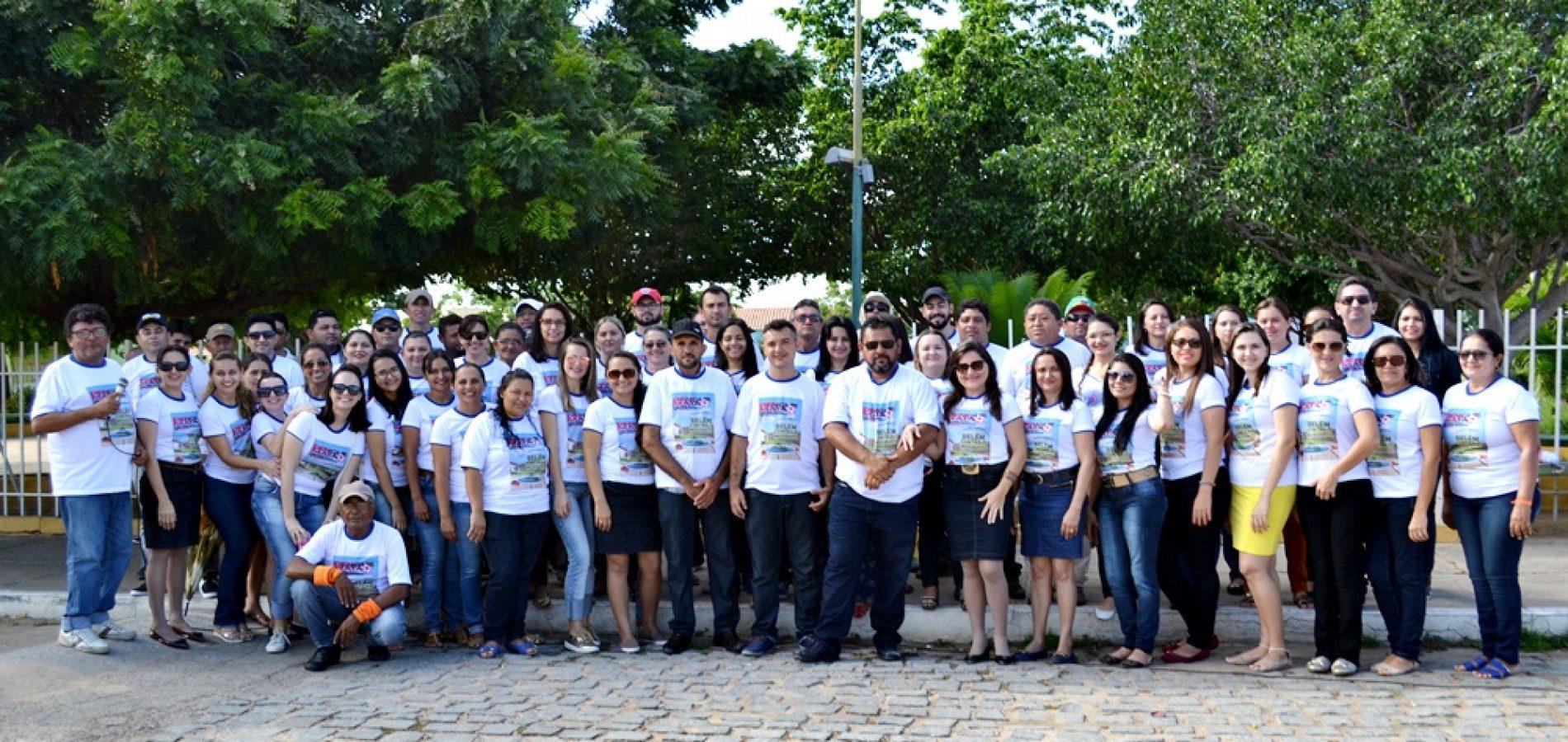 Passeata mobiliza população no combate ao aedes aegypti em Belém do Piauí