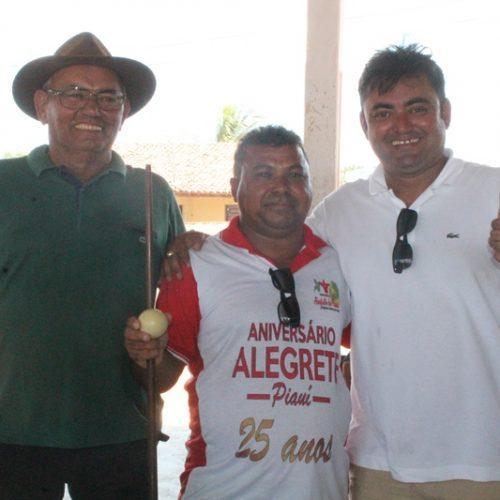 ALEGRETE   Segundo dia de festividades é iniciado com o I Torneio Municipal de Sinuca