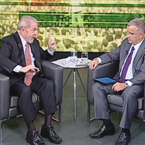 Em entrevista ao SBT, Lula confirma que vai ser candidato à Presidência em 2018