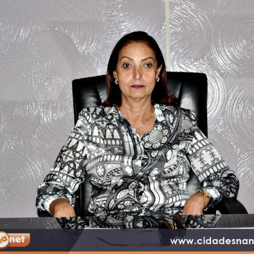 Prefeita Maria José divulga atrações da festa de aniversário de Fronteiras