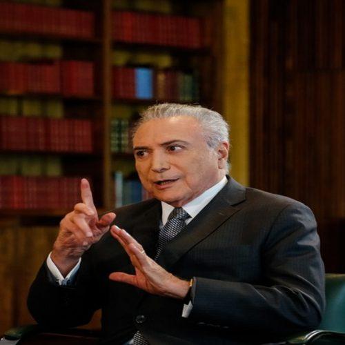 'Não vamos deixar que uma delação qualquer paralise o Brasil', diz Temer