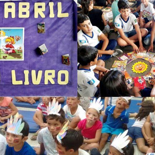 VILA NOVA | Escolas municipais comemoram Dia do Índio e do Livro Infantil