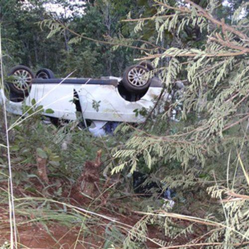Mulher morre após carro capotar na 'rodovia da morte', no Sul do Estado