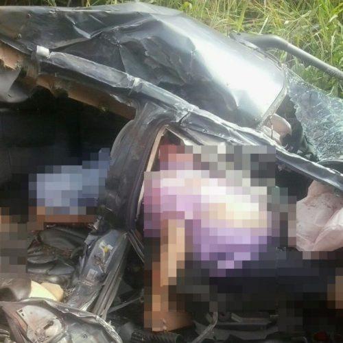 Três pessoas morrem em acidente entre carreta e veículo no Piauí