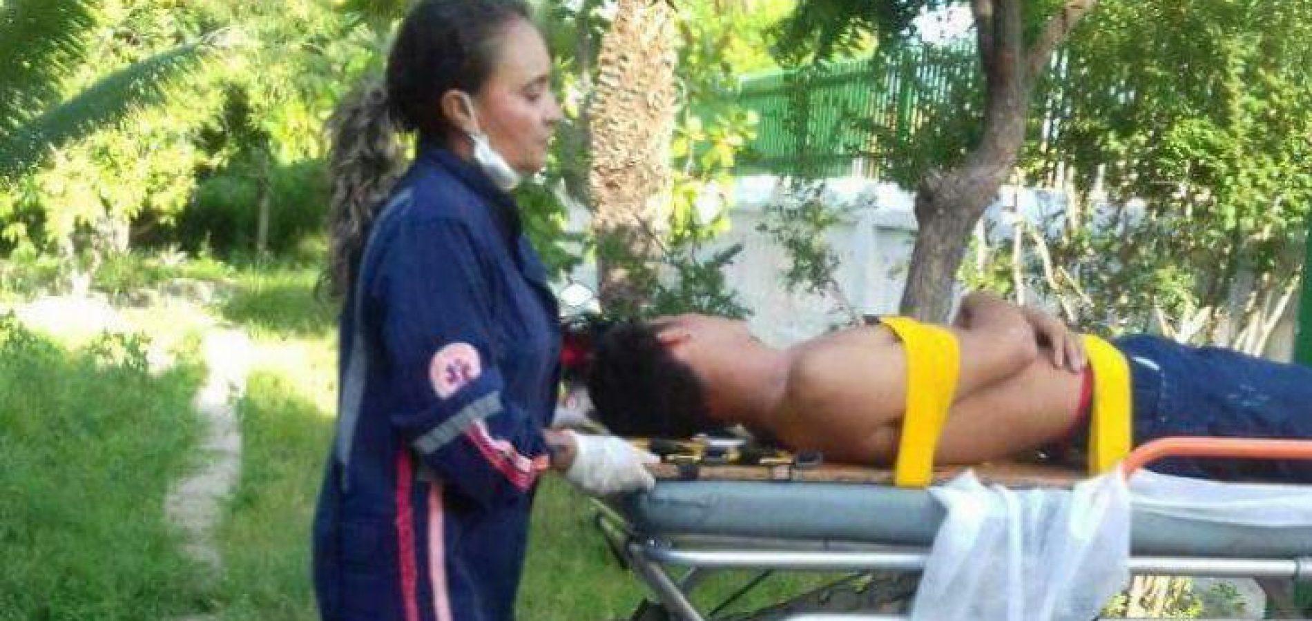 """No Piauí, adolescente vai parar no hospital por suposta participação no  jogo da """"baleia azul"""""""
