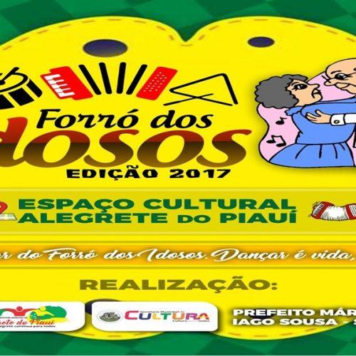 Em Alegrete, secretarias de Cultura e Assistência realizam o forró dos idosos nesta sexta-feira (21)