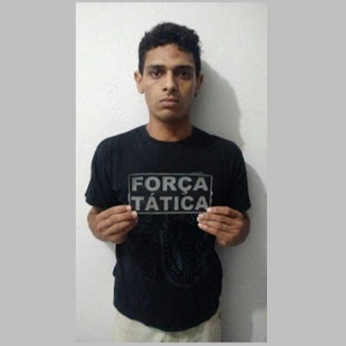 Foragido da Justiça é preso pela Policia Militar em Fronteiras-PI