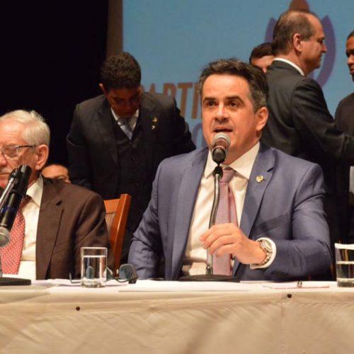 Ciro Nogueira é reeleito presidente nacional do Partido Progressista