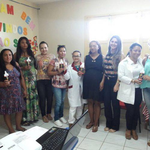 ALEGRETE | Assistência e Saúde realizam palestra para gestantes com entrega de kits