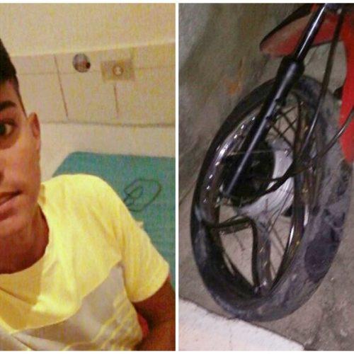 MASSAPÊ | Adolescente sofre grave acidente de moto e será transferido para Teresina de avião