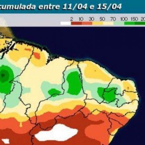 Sertão do Piauí terá semana com chuvas frequentes e de grande volume, aponta previsão
