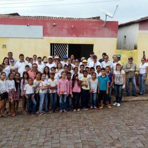 FRANCISCO MACÊDO | Prefeitura realiza grande mutirão contra o mosquito Aedes aegypti