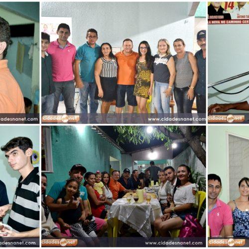 Edilson Brito reúne familiares e amigos em confraternização na Semana Santa em Vila Nova do PI
