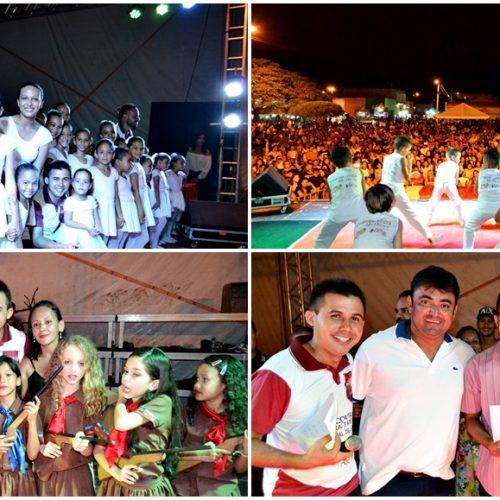ALEGRETE 25 ANOS | Apresentações artísticas marcam o I Encontro Cultural e Festival Regional de Dança; veja fotos