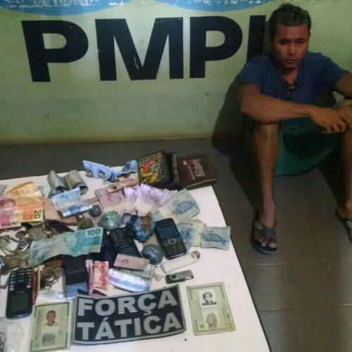 Pai e filho são presos por tráfico de drogas no interior do Piauí