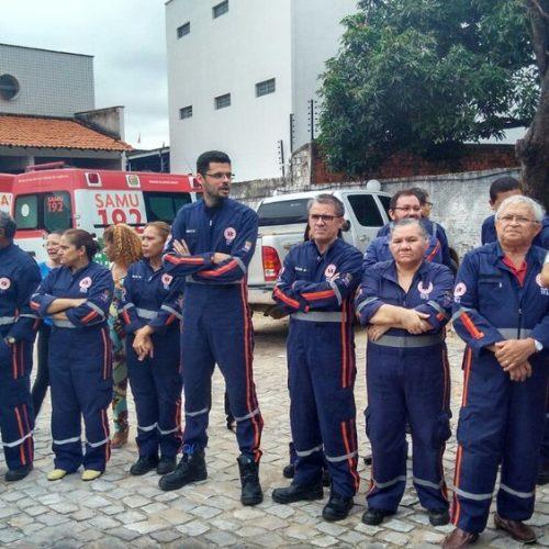 No Piauí, servidores do Samu cruzam os braços e apenas três ambulâncias irão atender