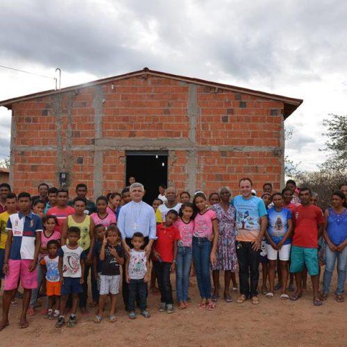 Bispo Dom Plínio visita comunidades da Paróquia de Santo Antônio, em Padre Marcos