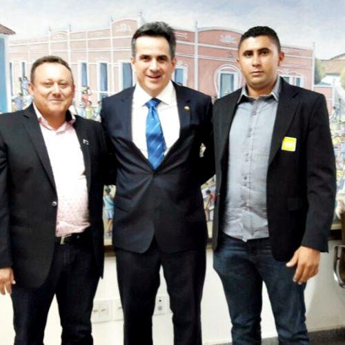 Prefeito de Vila Nova se reúne com parlamentares federais em busca de investimentos durante a XX Marcha em Brasília