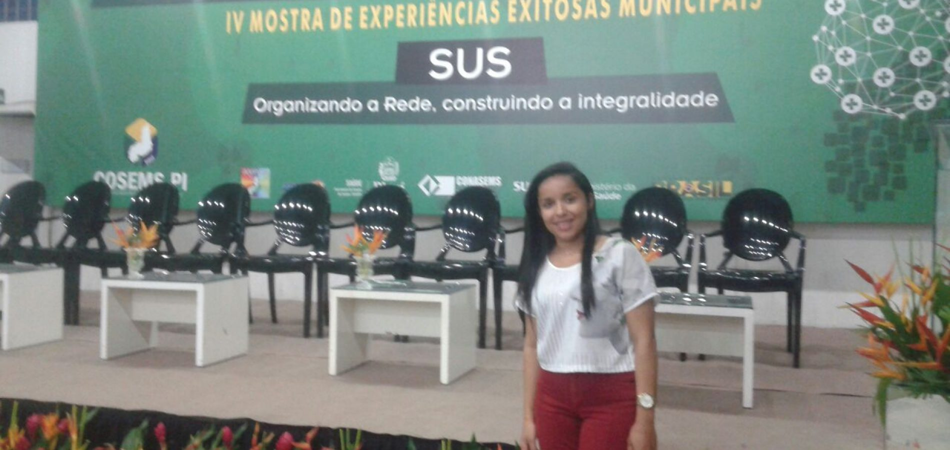 Município de Vila Nova participa do VII Congresso de Secretários Municipais de Saúde do Estado do Piauí