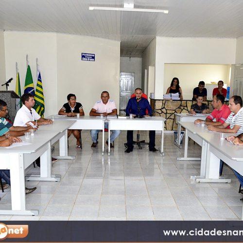 Em Caridade do Piauí, vereadores aprovam projetos denominando ruas