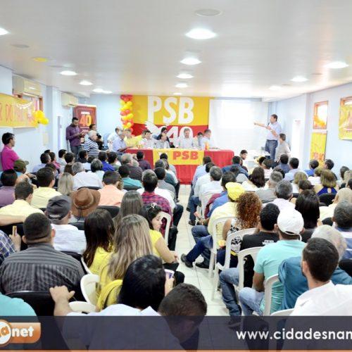 PSB reúne lideranças em Picos para discutir estratégias visando eleições do próximo ano; fotos