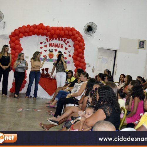 Evento homenageia mães da Creche 'O Bolinha' em Jaicós; veja fotos