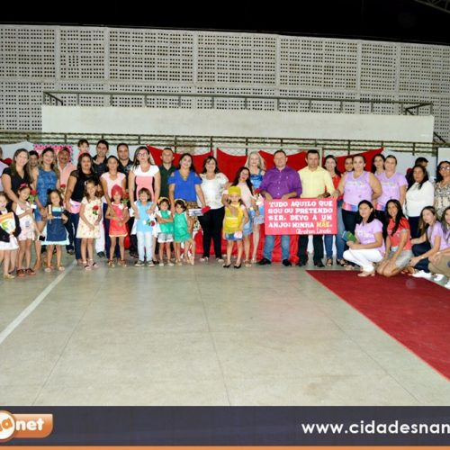 FOTOS | Festa em homenagem as mães e abertura da VI Semana do Bebê em Vila Nova do Piauí