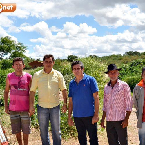 Prefeitura de Padre Marcos elabora projetos para construção de duas barragens na zona rural; 75 famílias serão beneficiadas