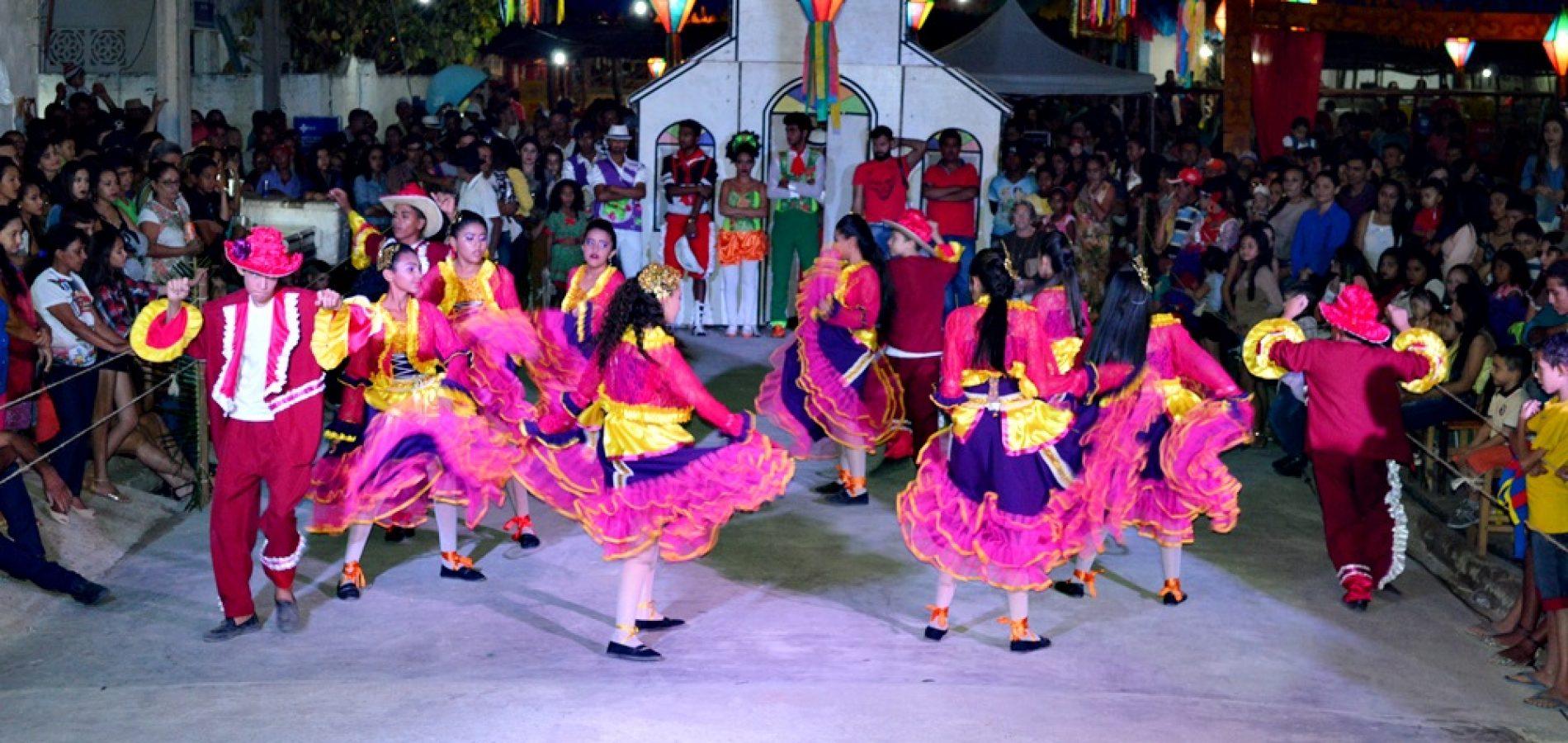 Prefeitura de Vila Nova torna público edital do Festival de Quadrilha do 16º Arraiá São João Batista