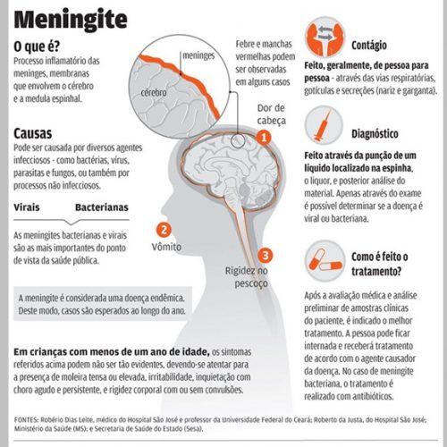 Surto de meningite deixa em alerta município do Piauí que faz divisa com o Ceará