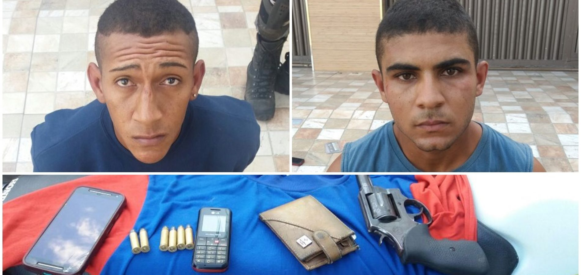 PICOS | Polícia prende dupla armada suspeita de assalto próximo a colégio particular
