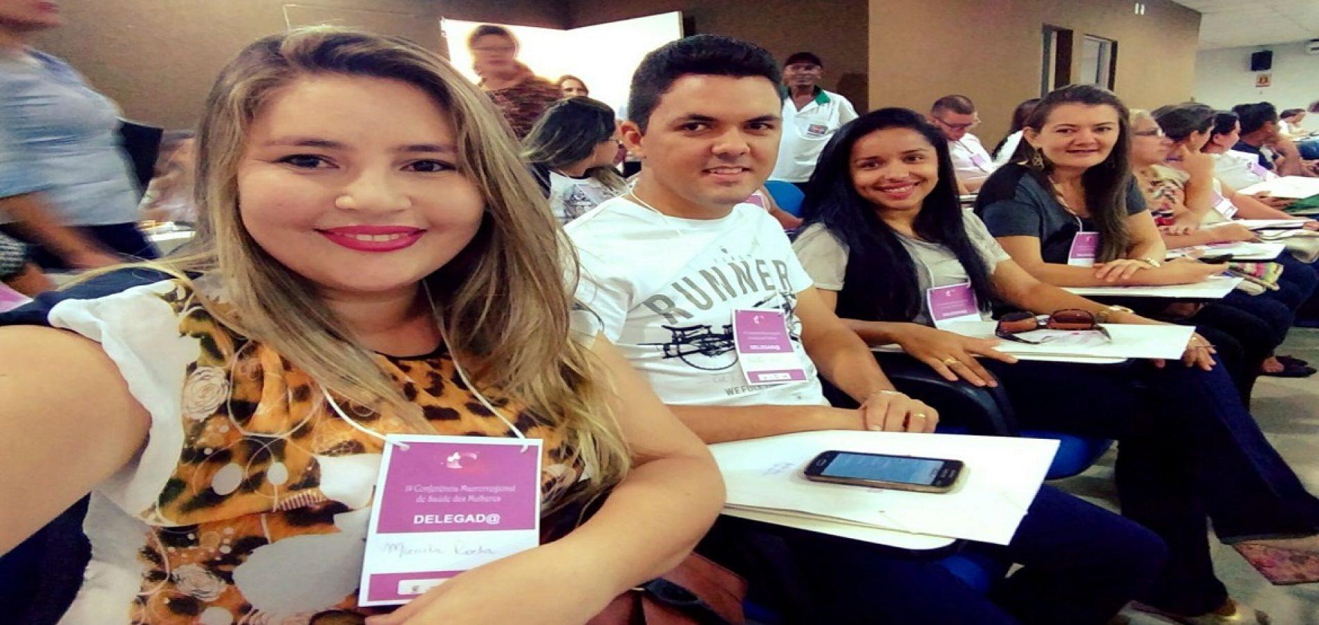 Representantes de Vila Nova participam da 1ª Conferência Macrorregional de Saúde da Mulher e Vigilância em Saúde