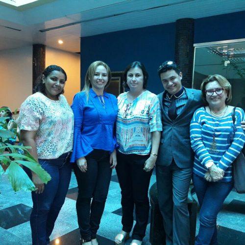 Secretária de educação de Fronteiras e equipe participam de capacitação da UNDIME em Teresina