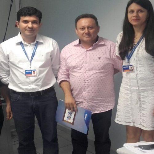 VILA NOVA   Prefeito e secretário participam de capacitação de Gerente Municipal de Convênios Caixa em Teresina