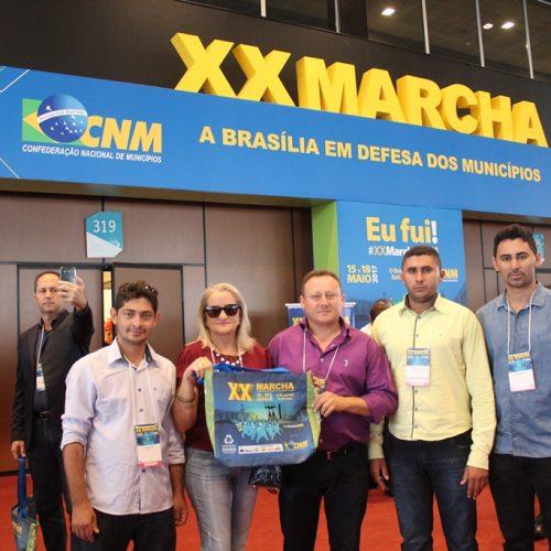 VILA NOVA | Edilson Brito e vereadores participam da XX Marcha dos Prefeitos em Brasília; veja fotos