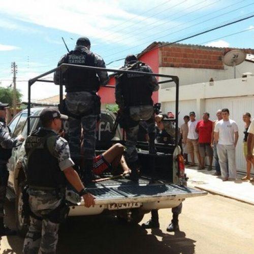 Preso acusado de participação em assalto que terminou com a morte de mulher em Picos