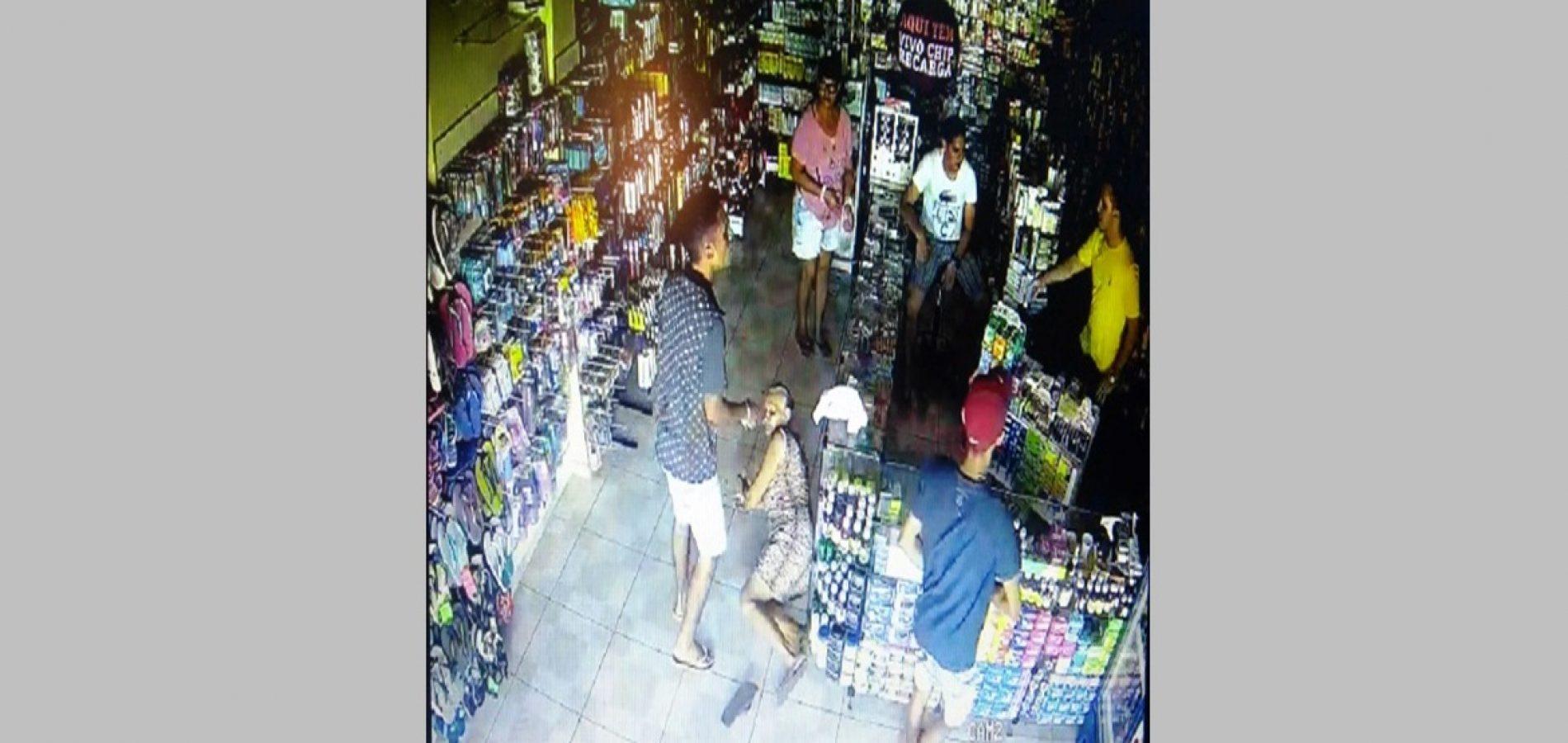 Idosa é agredida durante assalto à farmácia em município do Piauí