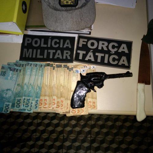 Força Tática apreende menores após assaltarem farmácia em Paulistana