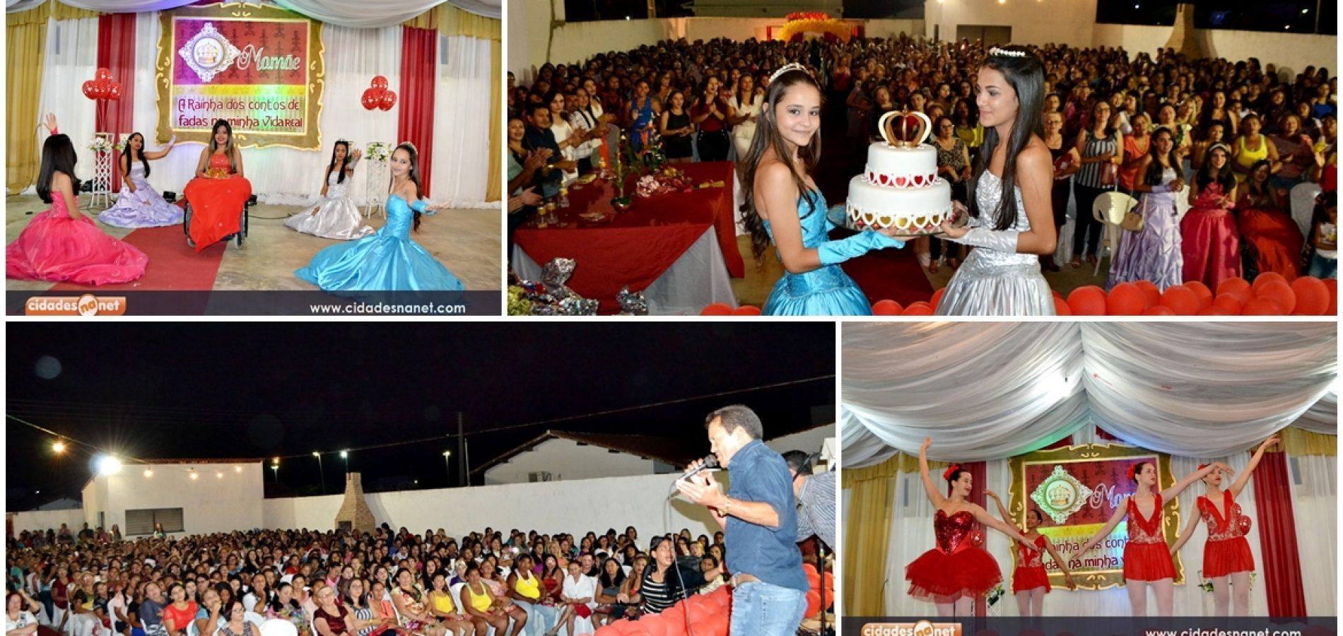 Grande evento homenageia cerca de mil Mães em Campo Grande do Piauí
