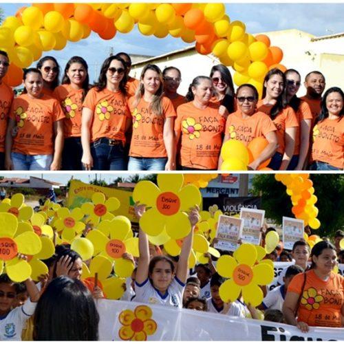 CAMPO GRANDE   Passeata mobiliza população para o combate ao abuso e à exploração sexual de crianças e adolescentes