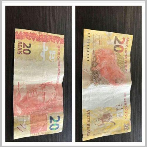 Notas de R$ 20 falsas circulam no Piauí e Polícia Federal faz alerta