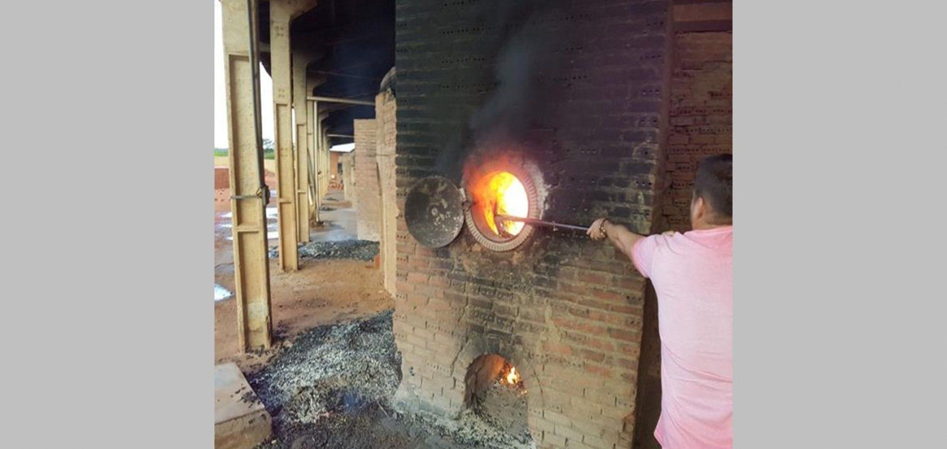 Droga avaliada em R$ 100 mil é incinerada pela polícia na cidade de Valença